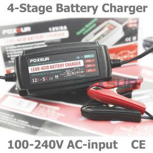 buy online 1c324 0cebb Wholesale Original 12V 5A 4-Stage Smart Lead Acid Battery Charger, Pulse  Charge, Desulfator, 100-240V Input, Waterproof Car Battery Charger