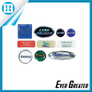 Customize UV Resistant 3D Dome Labels pictures & photos
