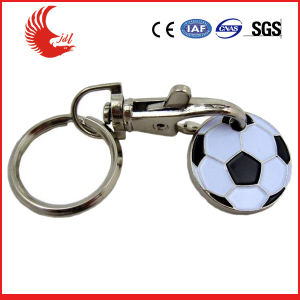 Football Supermarket Tokens Keychain for Promotional Gifts pictures & photos