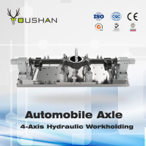 Automobile Axle Hydraulic Fixture