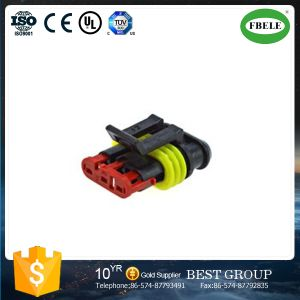 3pin Electrical Waterproof Plastic Cable Wire Auto Connector pictures & photos