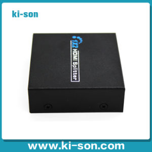 HDMI Splitter 1 in 2 out with 5V Power Supply and Support 1080P 3D