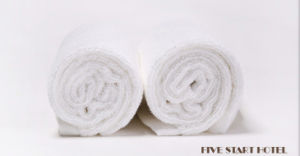 Face Towel for Five Star Hotel 30X70cm pictures & photos