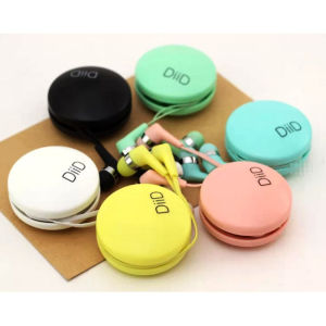 Candy Color 3.5mm Earphone with 1.2m Wire for Mobile Phone