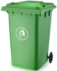 240 Liter Plastic Dustbin with 2 Wheels pictures & photos