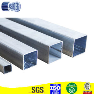 JIS3445 35X35X3mm Mild Steel Square Structural Tube pictures & photos