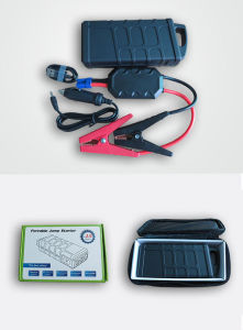 600A Peak Current Car Jump Starter with 10000mAh External Battery Charger