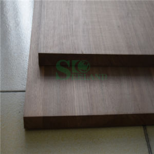 High Quality Black Walnut Solid Panel for Decoration pictures & photos