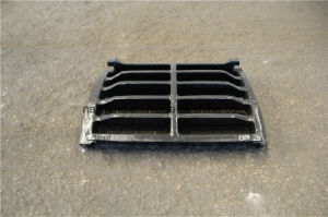High Manganese Steel Casting Grating for Crusher