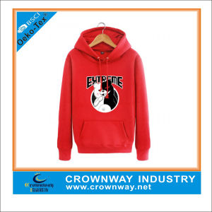 Irish Cotton Pullover Hoodies with Animal Printing Logo Front pictures & photos