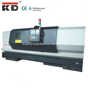 High Precision Horizontal Flat Bed CNC Machine Ck6150/750 pictures & photos