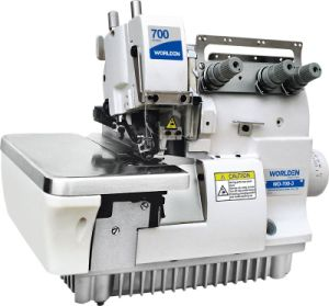 Wd-700-3/700-3h Three Thread Overlock Sewing Machine pictures & photos