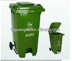 Ultrastrong HDPE Pedal Dustbin pictures & photos