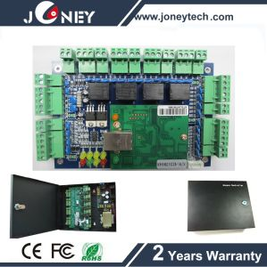 4 Door Access Control System TCP IP Wiegand Control Board Can  Control  Enter  and  Exit  by  Read  Card pictures & photos