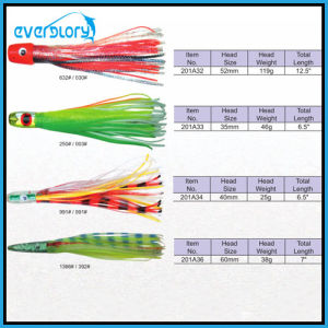 Popular and Attractive Octopus Fishing Bait Suitable for Australia Market