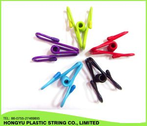Factory Custom Cheap Durable Colorful Metal Clothes Clips Pegs Clothespin pictures & photos