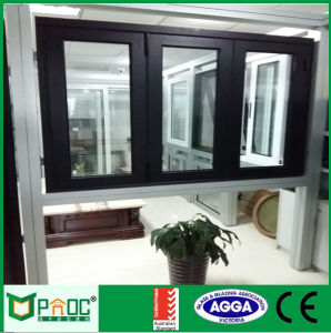 Aluminum Bi Folding Windows with Tempered Glazing As2047 Pnoc0009bfw pictures & photos