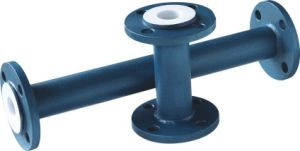 PTFE Lined Pipe (SPOOL) Flange Straight Pipe pictures & photos
