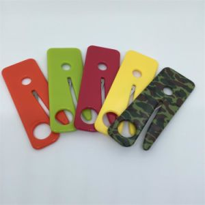 Logo Colors Mini Slim Card Sharp Seat Belt Knife Emergency Seatbelt Cutter pictures & photos