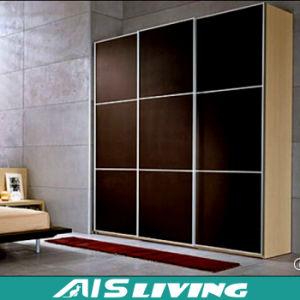 Eco-Friendly Sliding Door Bedroom Furniture Wardrobes Closet (AIS-W058)