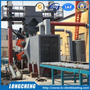 Roller Conveying Type Rust Removing Cleaning Machine