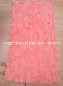 Customized Color 100% Real Rex Rabbit Fur Plate for Coat