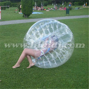 Transparent PVC Soccer Bubble Ball for Kids D5023 pictures & photos