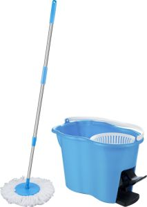 2015 Hot Selling Household Easy Life Magic Auto 360 Spin Floor Rubber Sir Interchange Mop Bucket