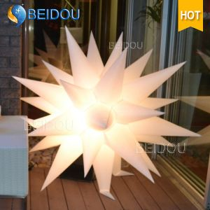 Wholesale Event Stage Wedding Party Decoration Jellyfish Lighted Inflatable Star