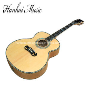 Hanhai Music / 43′′ Acoustic Guitar with Top Solid (SJ-200) pictures & photos