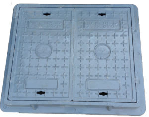 Two Doors Blue SMC/BMC Telecom Manhole Cover
