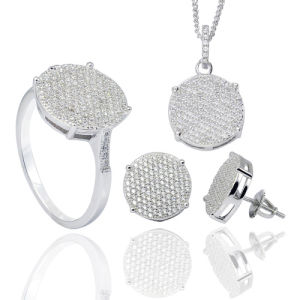 Fashion Jewelry 925 Sterling Silver Jewelry Set for Women