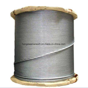 Galvanized Steel Wire Rope 10mm, Electrical Galvanized Steel Wire Rope., Steel Wire Rope for Drilling Rig. (XM090) pictures & photos