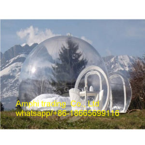 2016 Hot Inflatable Transparent Bubble Tent Camping Tent in Lawn and Snow Tent