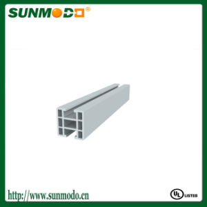 Anodized 6063-T5 Standard Clear Anodized Aluminum Profile