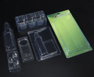 Clear Food PET Box Factory Made in China (food tray) pictures & photos