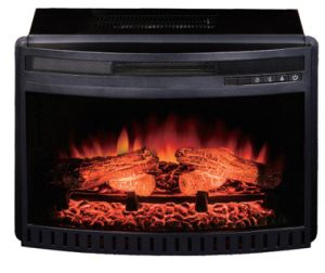 CSA Certified Curved Front Electric Infrared Fireplace