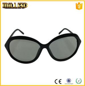 890e7dddd62 High Quality Designated Logo Lunette 3D Glasses Plastic Frame Polarized  Lens for Cinema