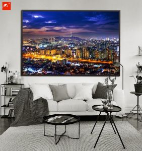 Large HD Print View of Downtown Canvas Print