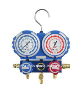 Manifold Gauge /Manifold Gauge Set with Big Rubber pictures & photos