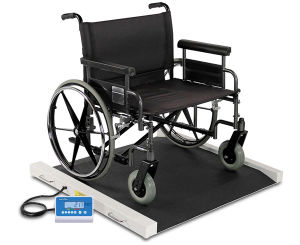 Roll-on Wheelchair Scale