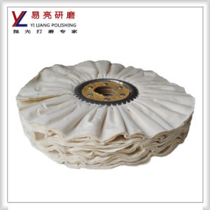 10inch 66pages Cloth Pleated Buffing Wheel