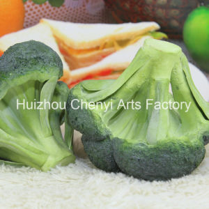 Very Realistic PU Model Artificial Broccoli pictures & photos