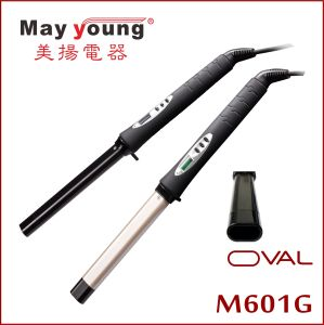 Wholesale New Design Oval Barrel Ceramic Coating Pofessional Hair Curler pictures & photos