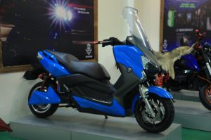 Electric Cruiser Scooter E-Motorcycle Motorbikes 72V 50ah 5000W (HD5000-2C)