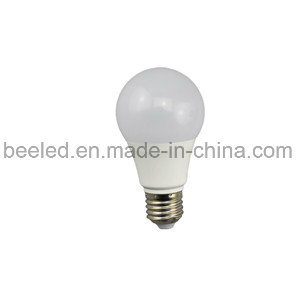 LED Corn Light E27 7W Warm White Silver Color Body LED Bulb Lamp