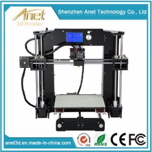 2018 Hot Sale Anet High Quality Print Size 220X220X250mm Chinese 3D Printer