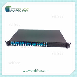 "24CH Aawg Fiber Optic DWDM, 19"" Rack-Mounted Optical Module C23-C46 pictures & photos"