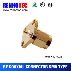 SMA Chassis Mount Female Connector Panel Mount SMA Coaxial Connector pictures & photos