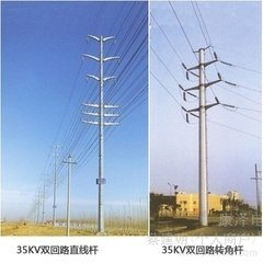 Iron Tower for Transmission Line with High Quality, Monopole